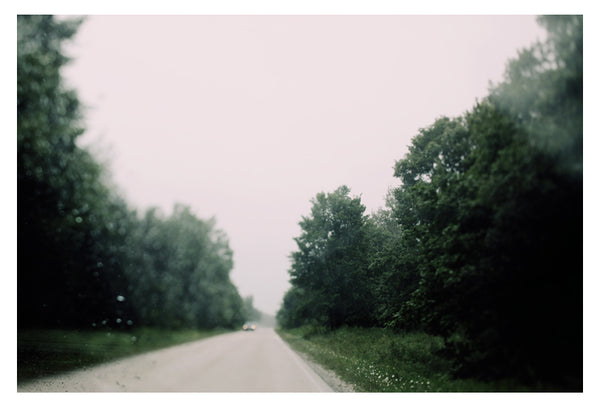 Driving In The August Rain - Fine Art Photograph