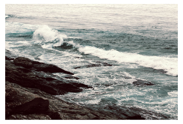 Cyan Sea #2 - Fine Art Photograph