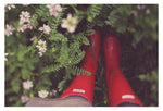 Red Boots #2 - Fine Art Photograph