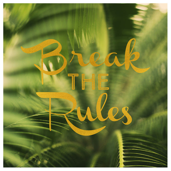 Break The Rules - Fine Art Photograph