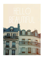 Hello Beautiful - Card