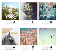 Daydreams & Visions - 2017 Calendar