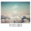 Let's Go Anywhere - Postcards
