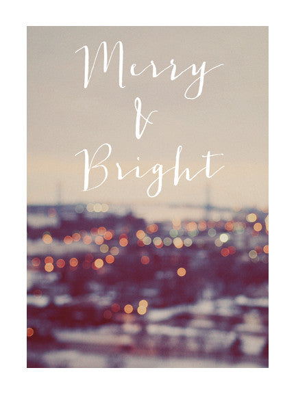 Merry & Bright #2 - Card