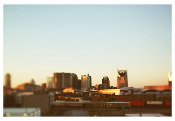 Nashville At Dusk - Fine Art Photograph
