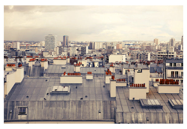 Paris Rooftops #5 - Fine Art Photograph