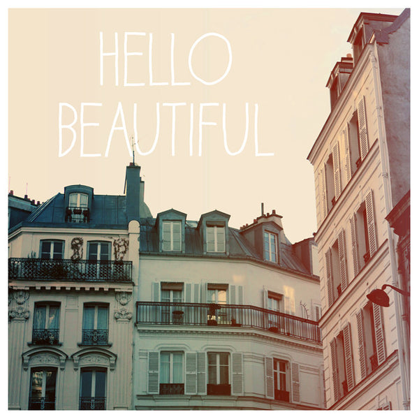 Hello Beautiful - Fine Art Photograph