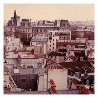 Fine Art Photograph of the rooftops of Paris. Photographed by Alicia Bock.