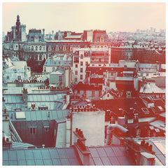 Rooftops Revisited - Fine Art Photograph