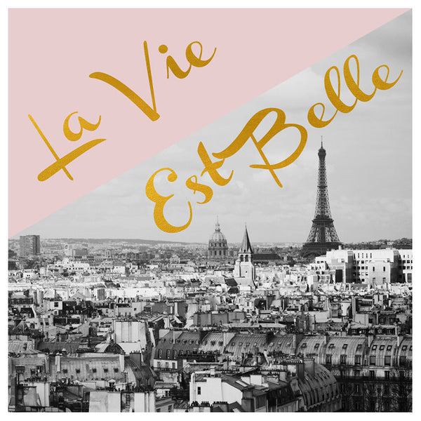 La Vie Est Belle (Paris) - Fine Art Photograph