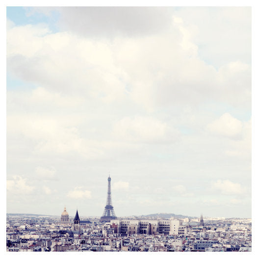 Blue Paris - Fine Art Photograph