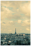 The Eiffel Tower and all of Paris, photographed by Alicia Bock.
