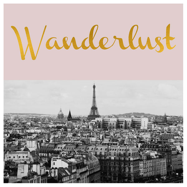Wanderlust (Paris) - Fine Art Photograph