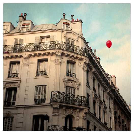 Le Balloon Rouge - Fine Art Photograph