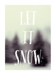 Let It Snow #3 - Card