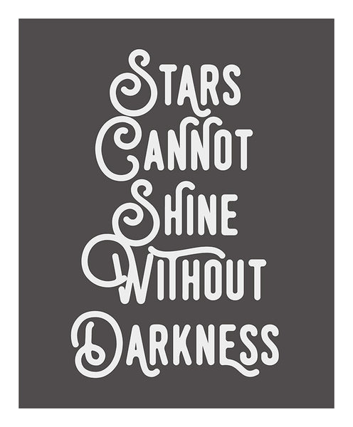 Stars Giclee Typography Print