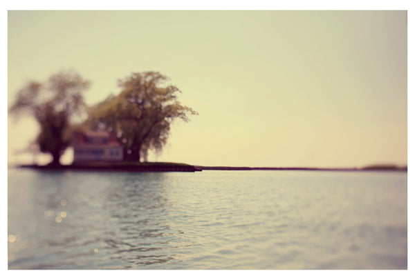 Fine art photograph of a summer day on the water. Photography by Alicia Bock.