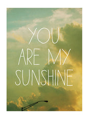 You Are My Sunshine - Card