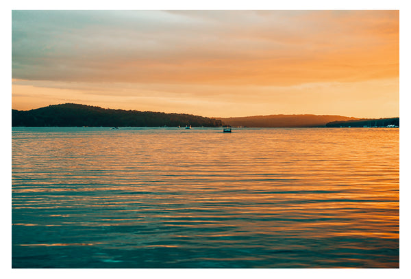 Sunset By Boat - Fine Art Photograph