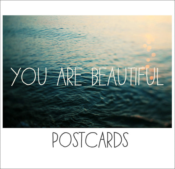 You Are Beautiful - Postcards