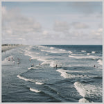 Blue Surf #2 - Fine Art Photograph