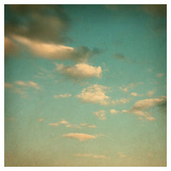 June Clouds In An October Sky - Fine Art Photograph