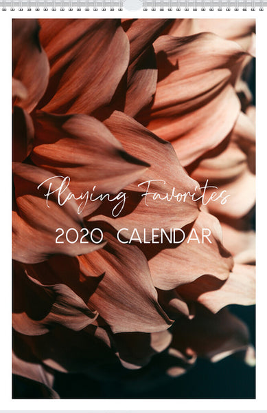 2020 Playing Favorites Wall Calendar