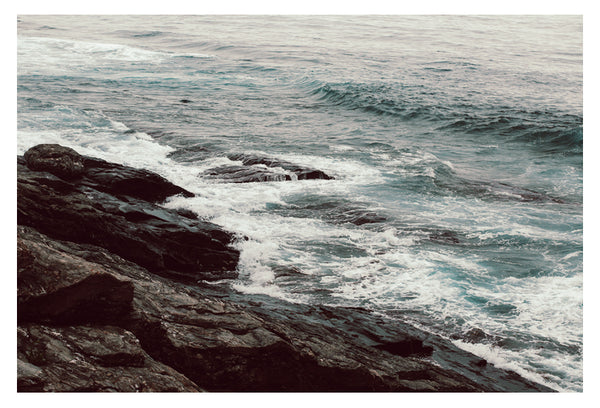 Cyan Sea #1 - Fine Art Photograph