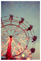 Fine art Ferris Wheel photograph by Alicia Bock.