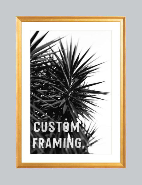 Custom Frame: Gold