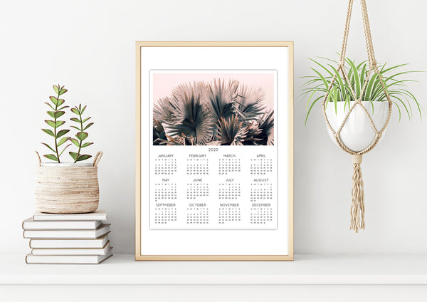 2020 Wall Calendar - Your Choice Of Photograph