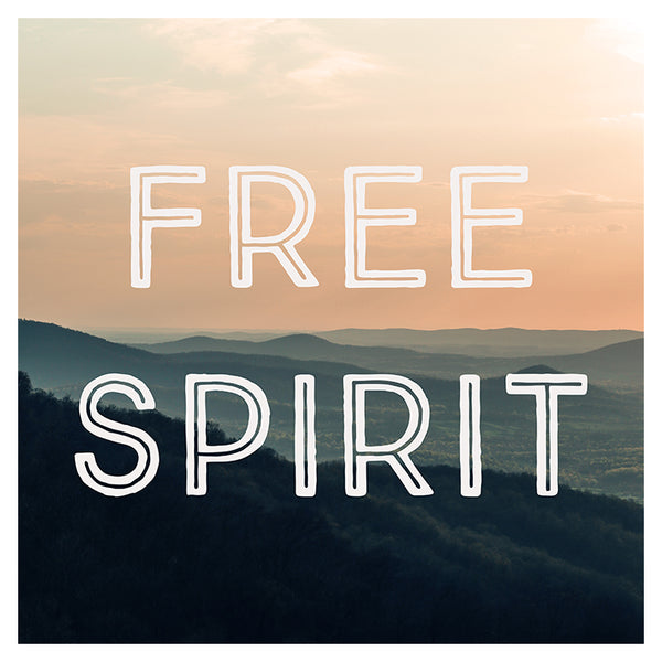 Free Spirit (Mountains) - Fine Art Photograph