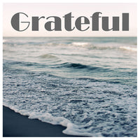 Grateful (Gray Beach)- Fine Art Photograph