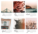 Playing Favorites : 2020 Desk Calendar