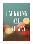 Laughing All The Way - Card