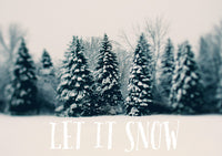Let It Snow #2 - Card