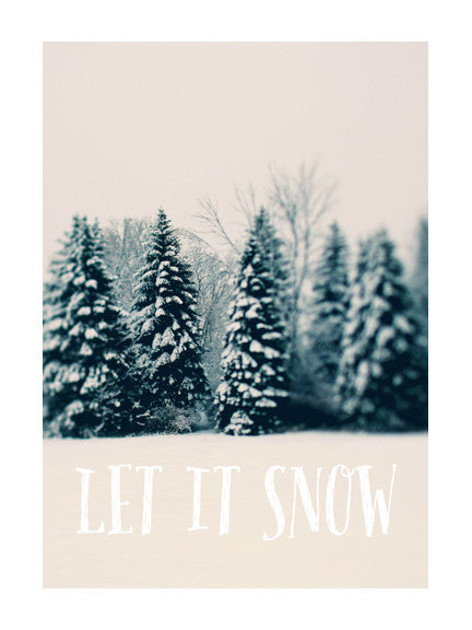 Let It Snow #1 - Card