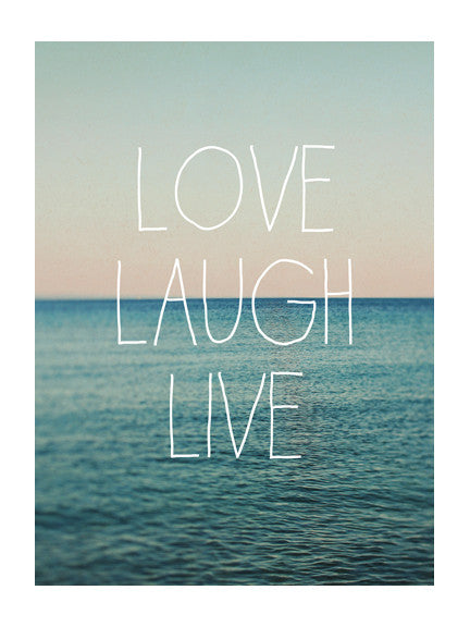 Love Laugh Live #1 - Card
