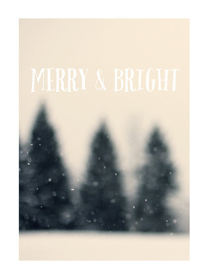 Merry & Bright #3 - Card