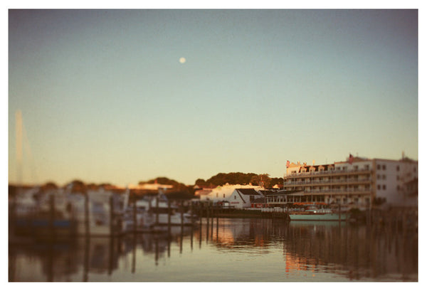 Harbor Moon - Fine Art Photograph