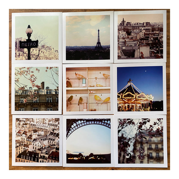 Paris Mini Print Set #1