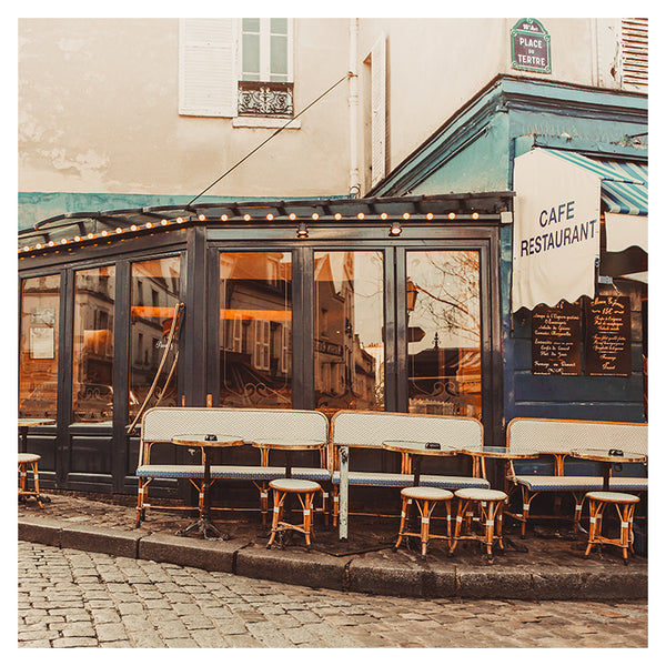Place Du Tertre - Fine Art Photograph