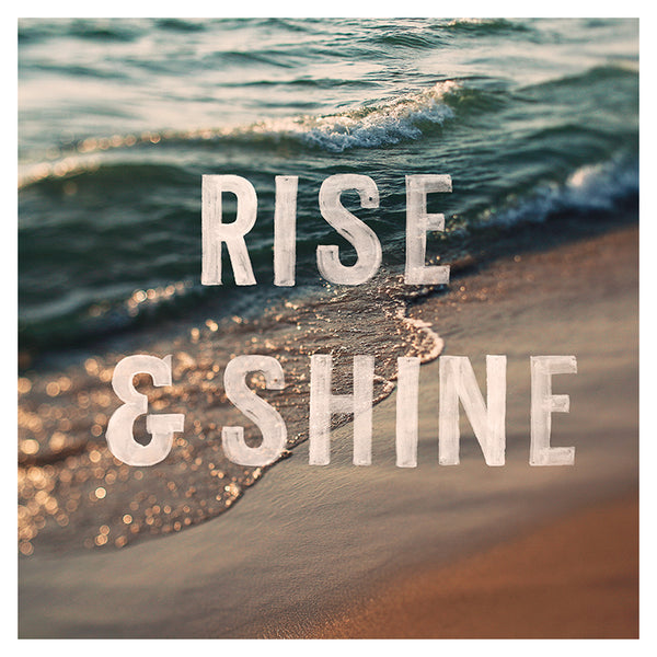 Rise & Shine (Beach)- Fine Art Photograph
