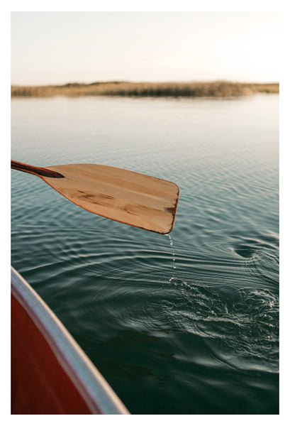 Sunrise Canoe #3 - Fine Art Photograph