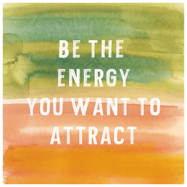 Energy Watercolor Print