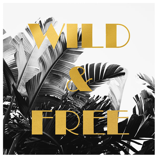 Wild and Free (Gold Palm) - Fine Art Photograph