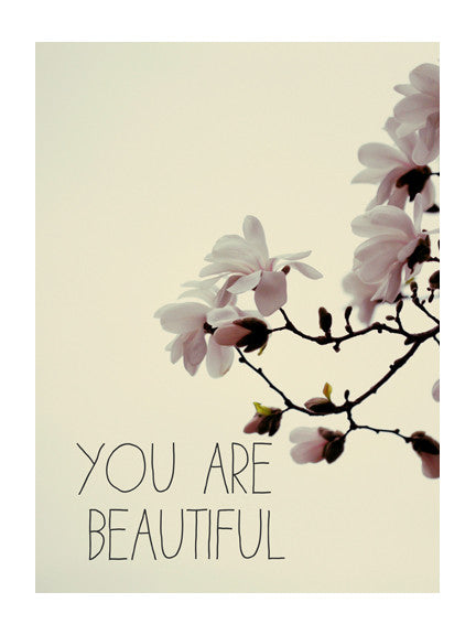 You Are Beautiful #1 - Card