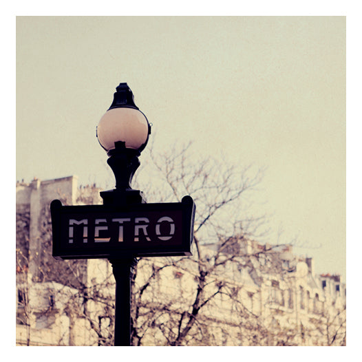 Fine art photograph of the Paris Metro by Alicia Bock.