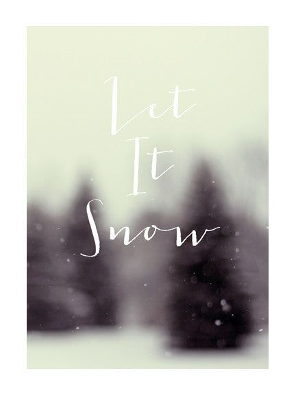 Let It Snow #4 - Card