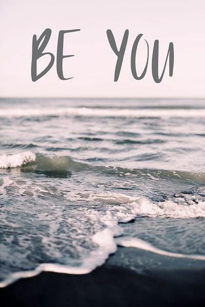 Be You (Gray Beach)- Fine Art Photograph